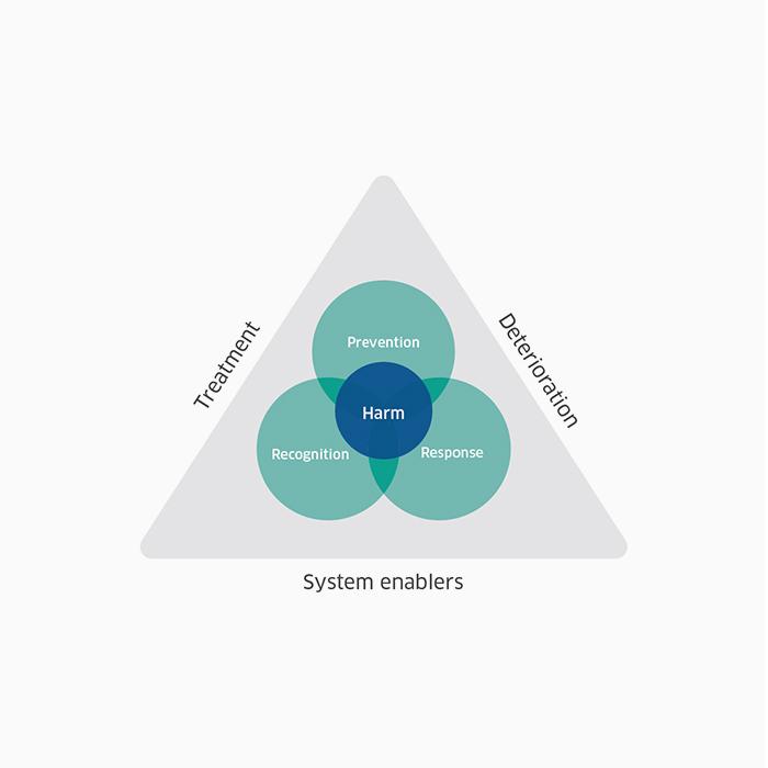 Factors involved in deterioration diagram - Factors involved