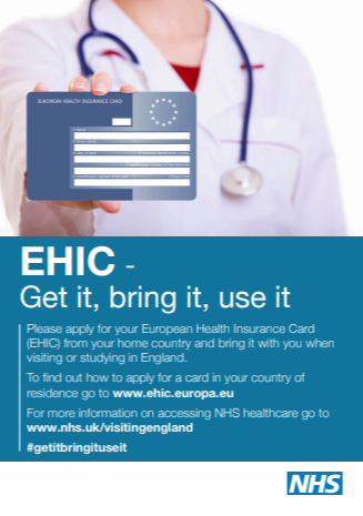 EHIC- get it , bring it, use it